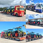 Image for the Tweet beginning: #TractorTuesday a few tractors leaving