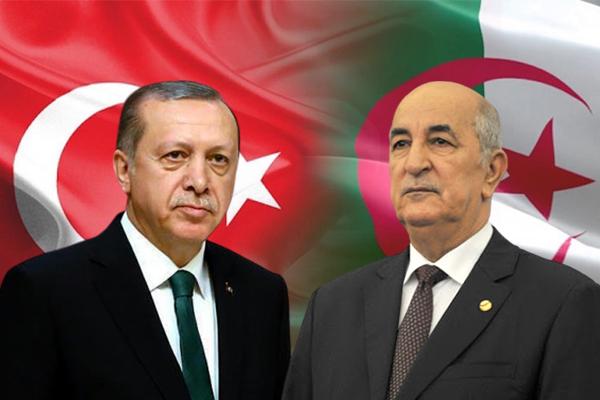 هــــــام رئيس الجمهورية عبد المجيد تبون يتلقى مكالمة هاتفية من الرئيس التركي رجب طيب اردوغان