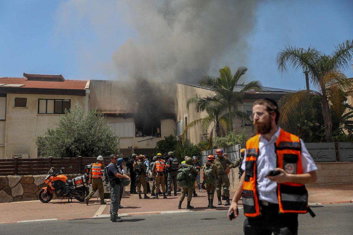 "اسرائيل في البحرين ""  2 Israeli Women killed today after their homes were directly hit by Hamas…"