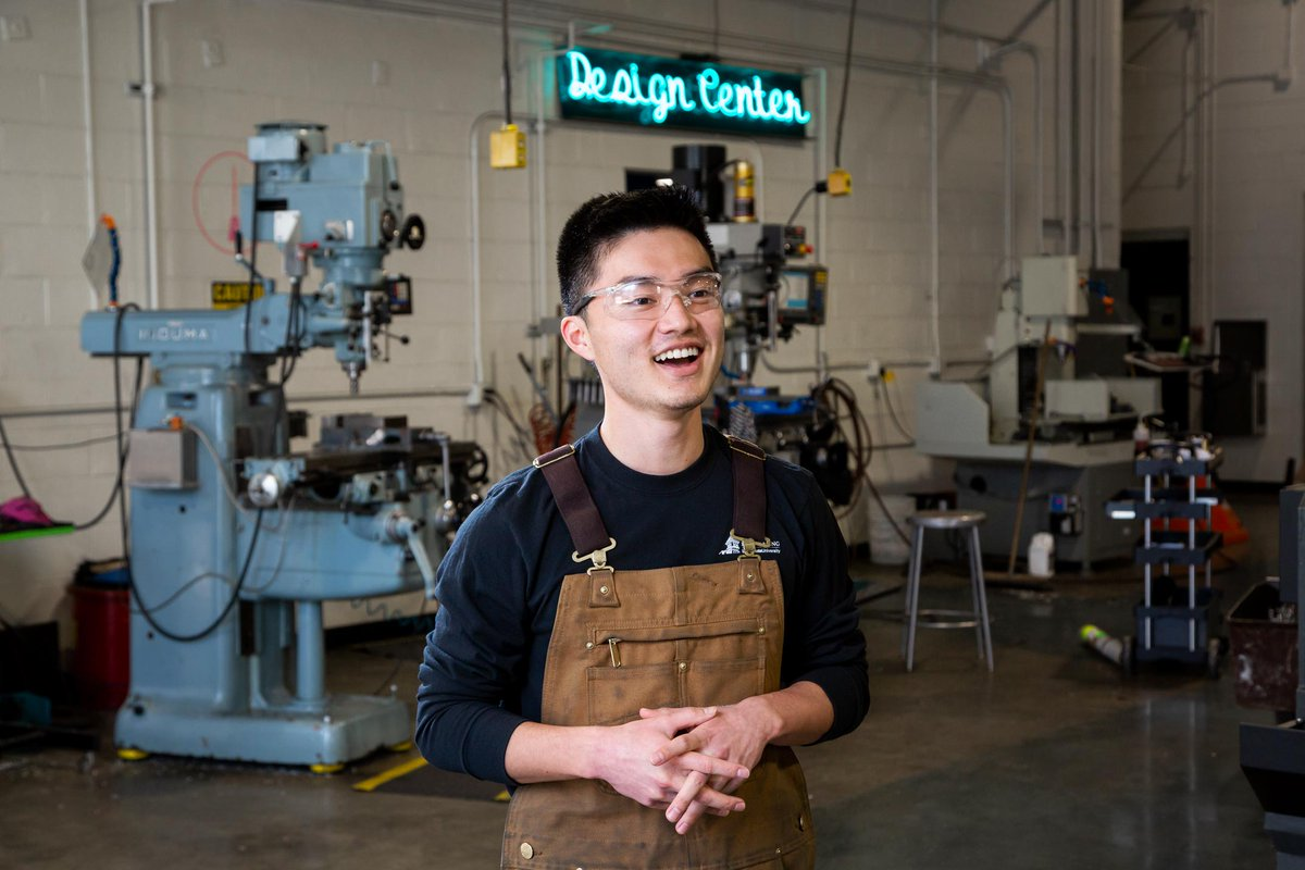 Meet Chaz Tanoue, junior in mechanical engineering and lab assistant in the Metal Factory! For #AAPIHeritageMonth, he shared with us what being Asian American means to him. https://t.co/kna7gHdKmF https://t.co/wPcBrGMPmX