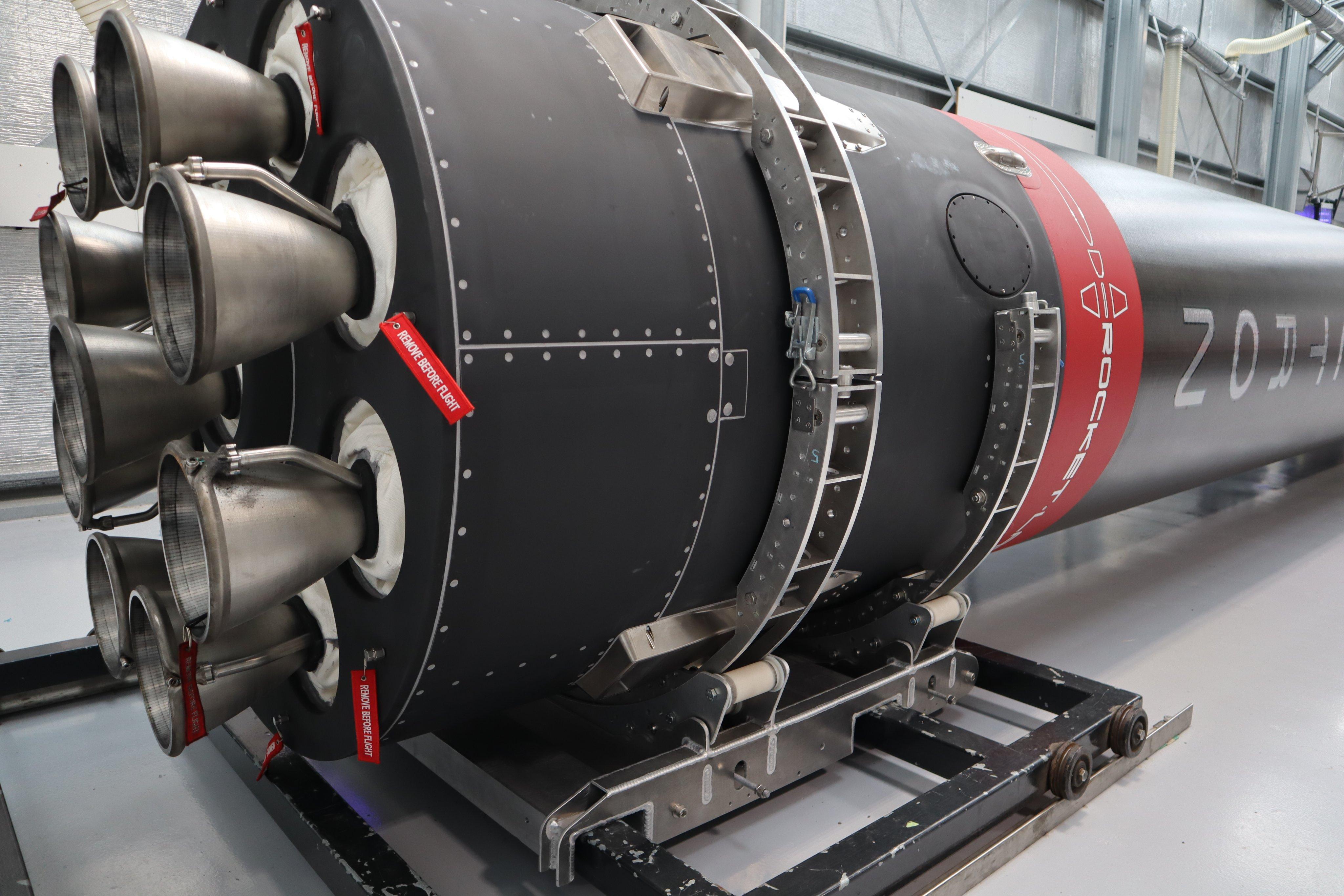 cohete electron rocket lab