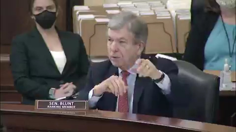 "Image for the Tweet beginning: Sen. Roy Blunt: ""I have"