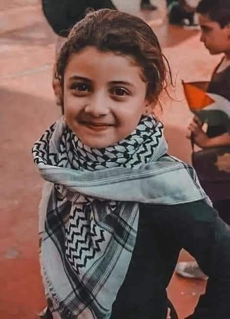 Say her name:   Rahaf Al Masry.   Age: 6 years.   Her short sweet life taken away by an American bomb dropped by Israeli fighter jet.  Do tell me why Rahaf needed to be murdered. https://t.co/QeybE4q3Bb
