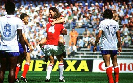 San Mames. Mundial 1982. Partido Inglaterra & Francia.