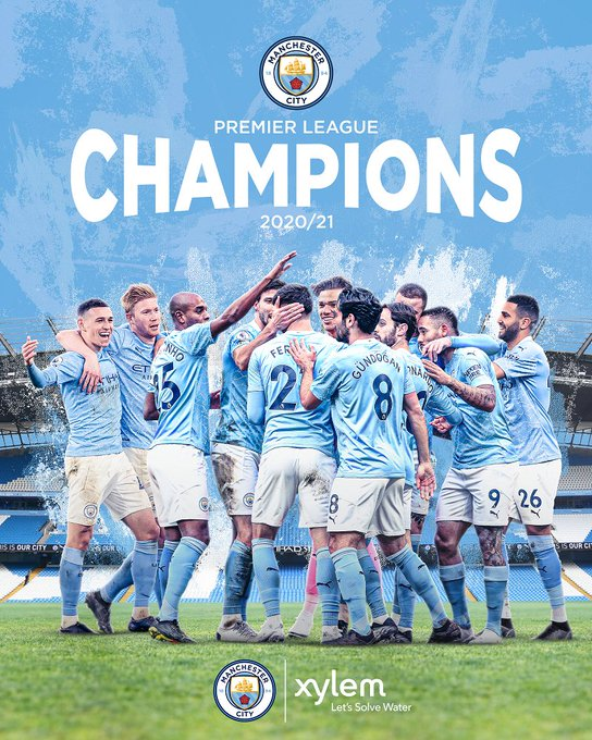 Congratulations @ManCity Football Club for being crowned the Premier League Champions for the 20/21 season. #ManCity has been the perfect teammate, he...