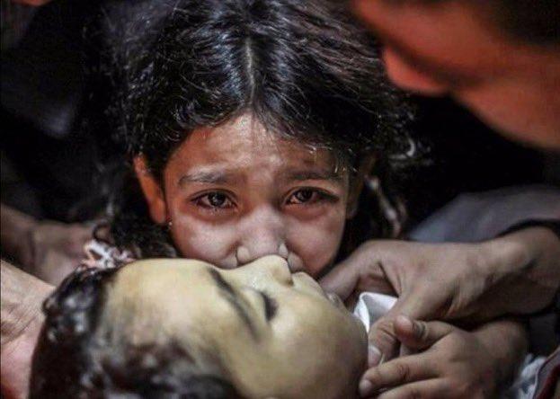 Esa mirada.Ese dolor.#palestina