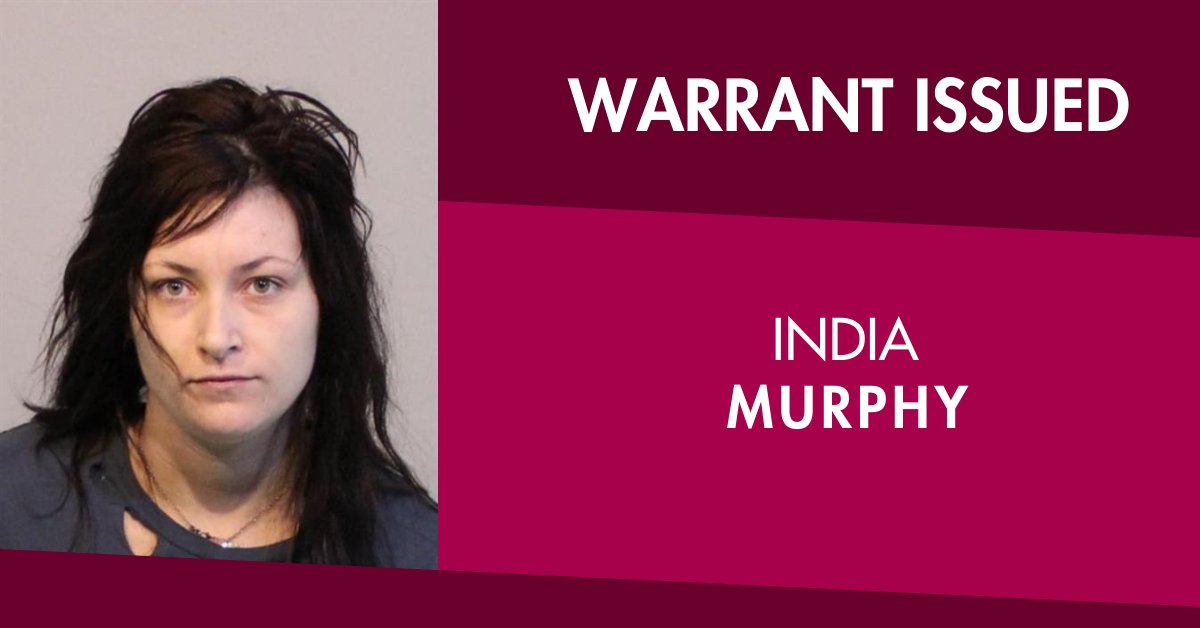 Warrant issued for India Murphy   Crime Stoppers on 1800 333 000 or make a confidential report at https://t.co/zfmSFgJvL4******   More 🔗 https://t.co/GAPy28bd4Z****** https://t.co/GwYSXo116R