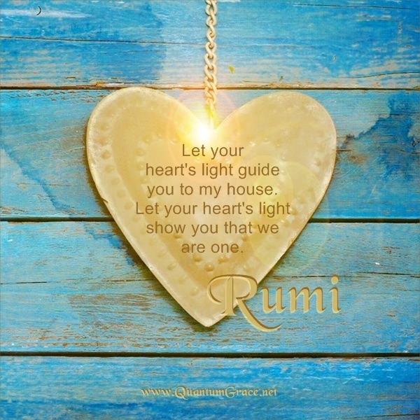 "@eldiablo0786 You are a seed planter, @eldiablo0786! 🙏😊💛💖  ""Let your heart's light guide you to my house. Let your heart's light show you that we are one."" Rumi  #JoyTrain #FamilyTrain #LUTL #IQRTG #TuesdayThoughts #ChooseLove #StarfishClub #ThinkBIGSundayWithMarsha"