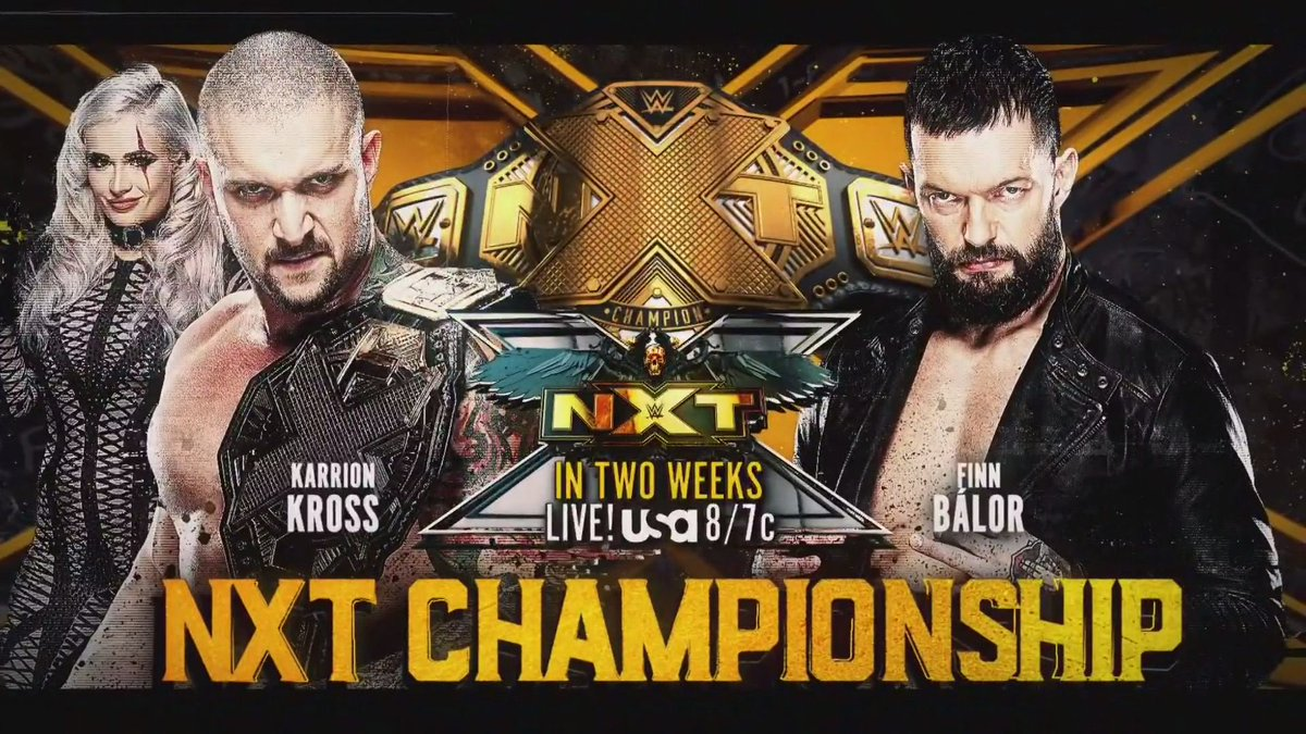 NXT Title Match And Franky Monet