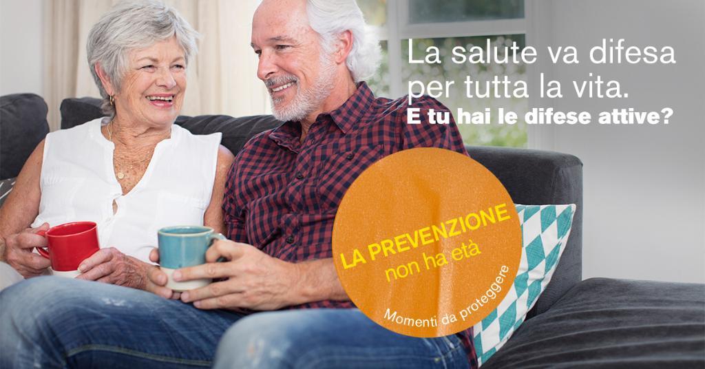 La salute va difesa in modo costante, per tutta la vita. E dopo i 65 anni, è ancora più importante! Assicurati di tenere le tue difese attive. Scopri come qui: https://t.co/WxnlUpExkq  #laprevenzionenonhaetà https://t.co/1vlZOilkUC