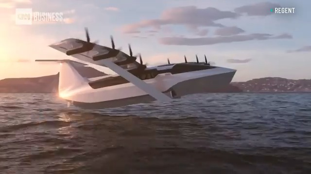 "Boston-based REGENT says it's planning to build the first all-electric ""seaglider,"" a ground-effect vehicle with top speeds of 180 mph. The company hopes it will change the future of transportation over water. https://t.co/SJby49ciDx https://t.co/60caWSRPUu"