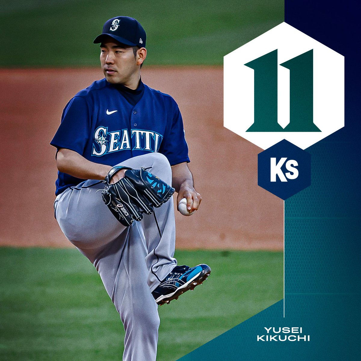 @MLB's photo on Kikuchi