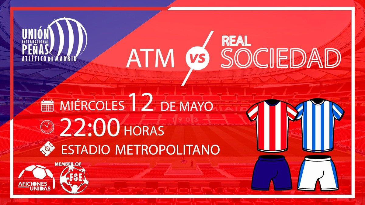 ‼️Vamos Atleti Vamos‼️🗓Jornada 36 de 🆚🏟🕰 22:00#PartidoAPartido