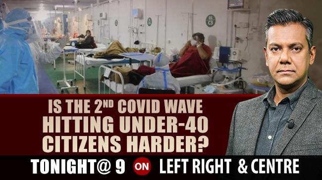 Watch #LeftRightCentre with Vishnu Som tonight at 9 only on NDTV 24x7