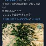 家系ラーメンの中に?JAXAの衛星写真を紛れ込ませてもバレないwww