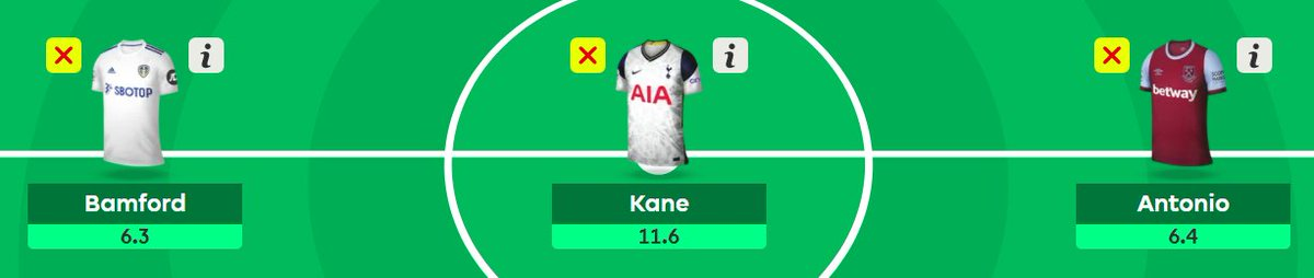 ⚽️ If you could pick any three strikers between now and the end of the #FPL season, who would they be?   Mine 👇