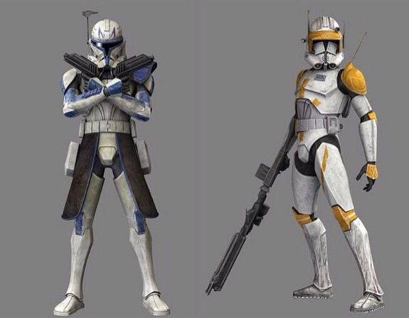 Would like to see Cody and Rex to make an appearance in TBB and have an epic confrontation between themselves while TBB in rex's side and Cody teamed up with crosshair. ✨✨  #TheBadBatch #StarWars