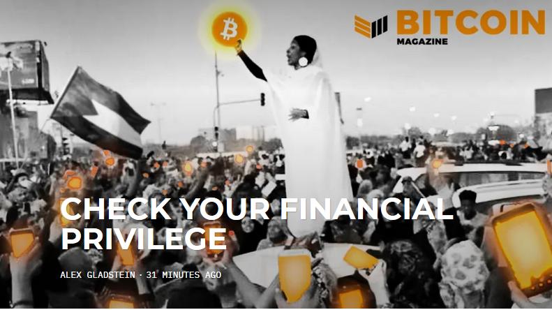 commercio bitcoin in sudan