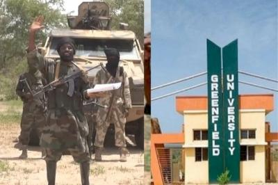 Kidnapped Greenfield varsity students' Ransom now N160m Read More: Accidentally #Pikamoon Hamas Sound Sultan #SouthernGovernors #LaiMohammed #HadizaGate Constitution #FLMBusScheme #Kidnappers #Kadunastate #students #Greenfielduniversity #Airdrop