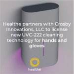 Healthe has announced a partnership with Crosby Innovations to manufacture a #UVC222 device which will cleanse hands or gloves of viruses and bacteria - expected to be made available in late Q4. Learn more: https://t.co/esPAU5qooK  #HealtheInc #CrosbyInnovations #ChemicalFree