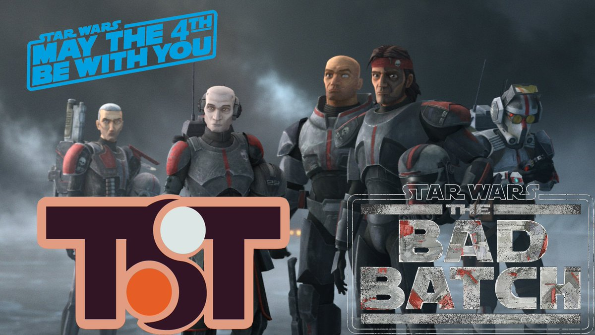 Today on TST, @_EricPfeifer & @TwinSunsAmanda are joined by Eric's cousin, @Dan_Entertains, to discuss #MayThe4th & the brand new show, #TheBadBatch. Eric, Amanda, & Dan dive into the premiere discussing the brand new characters and storylines. Listen now! https://t.co/cXdDrmUWZN https://t.co/Bvy3wsGcKh