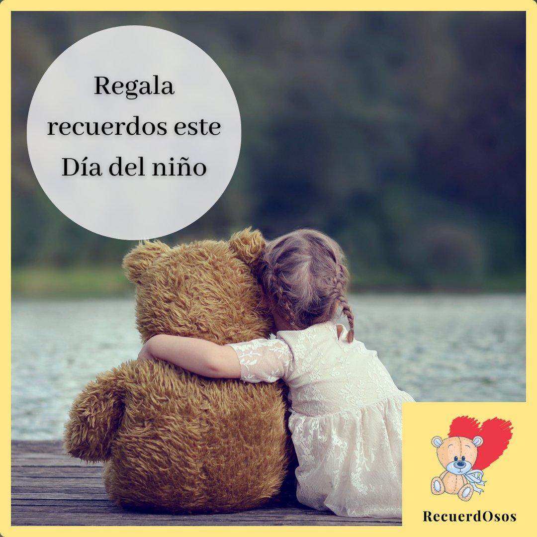 En este Día del niño, regálale a tus hijos un tierno peluche de RecuerdOsos con el que podrán recordar a su ser querido. #FelizDiadelNiño #DiadelNiño #30deAbril #Regalos #RecuerdOsos #Peluches #NuevosModelos