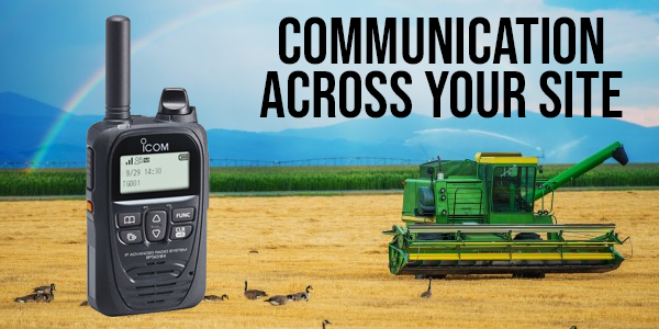 In an #agricultural environment many workers face lone working on a daily basis, when help is required they need to know that they can act fast to raise an emergency call. In rural areas where cellular networks can prove unreliable #radio comms equipment can fill that void!