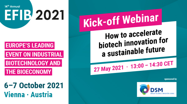 "test Twitter Media - 💥Get ready for @EFIBconference by joining our launch webinar ""How to accelerate biotech #innovation for a #sustainable future"" on May 27!  👉 REGISTER NOW: ▶️https://t.co/iLwnDujKwK !  💻 Co-hosted by @EuropaBio @DSM and @BiotechDelft . https://t.co/WzR20XLdXx"
