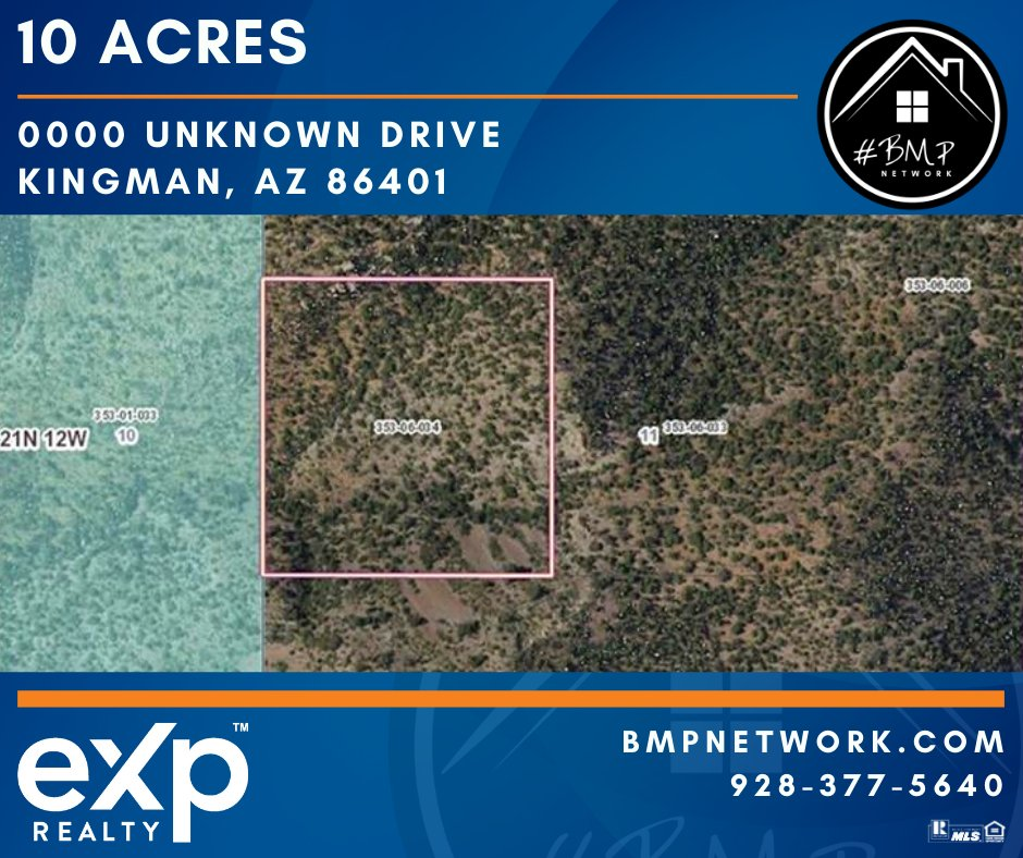 ⭐ 10 ACRES!! ⭐ Info: https://t.co/LOVf3dJZXf  BMP Network eXp Realty 928-263-6854  #RealEstate #Realtor #ForSale #LandForSale #LotsForSale #BuildYourDreamHome #eXpRealty #NewListing #HomesForSale #Property #Properties  #BMPNetwork #LandForSale #BMPDavid https://t.co/2kGBL0erRr
