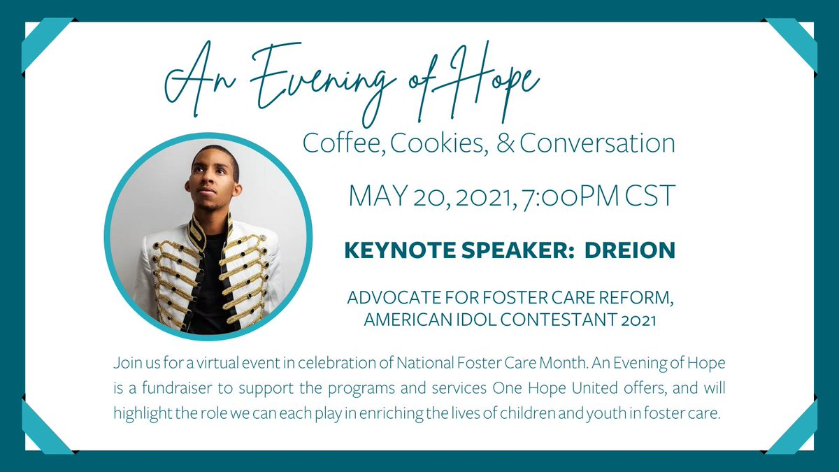 test Twitter Media - Don't miss your chance to purchase tickets to An Evening of Hope: Coffee, Cookies, & Conversation! The deadline to buy champion tickets, which include a gift box valued at $50, is today.  Click here to buy tickets: https://t.co/v2wYBkEvL9   @dreionation #OHUEveningofHope https://t.co/ELLHz7Lhyp