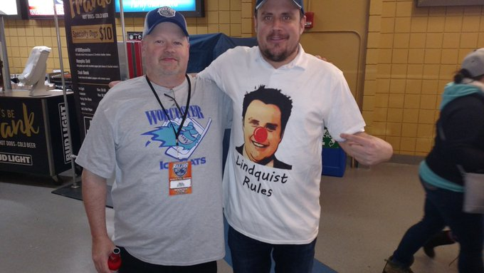 Happy birthday to Worcester\s Clown Prince of Hockey,