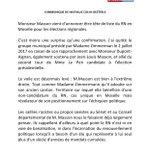 Image for the Tweet beginning: 🗞 Communiqué de presse: Masson
