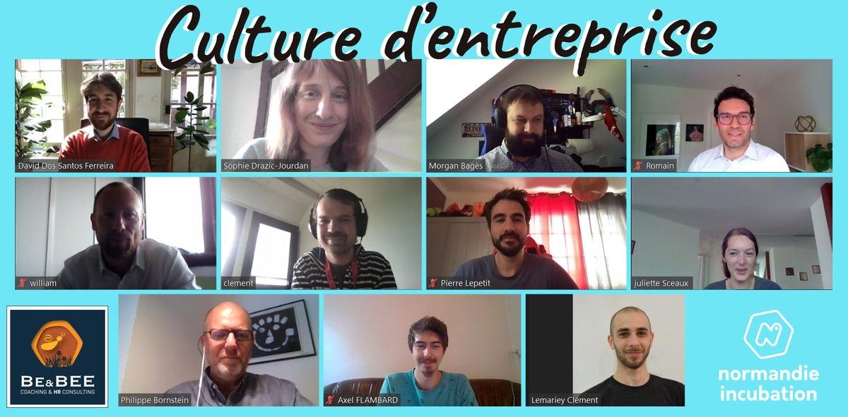 Aujourd'hui, c'était formation culture d' #entreprise avec David de Be&Bee Consulting ! Souvent mise de côté ou considérée comme un…
