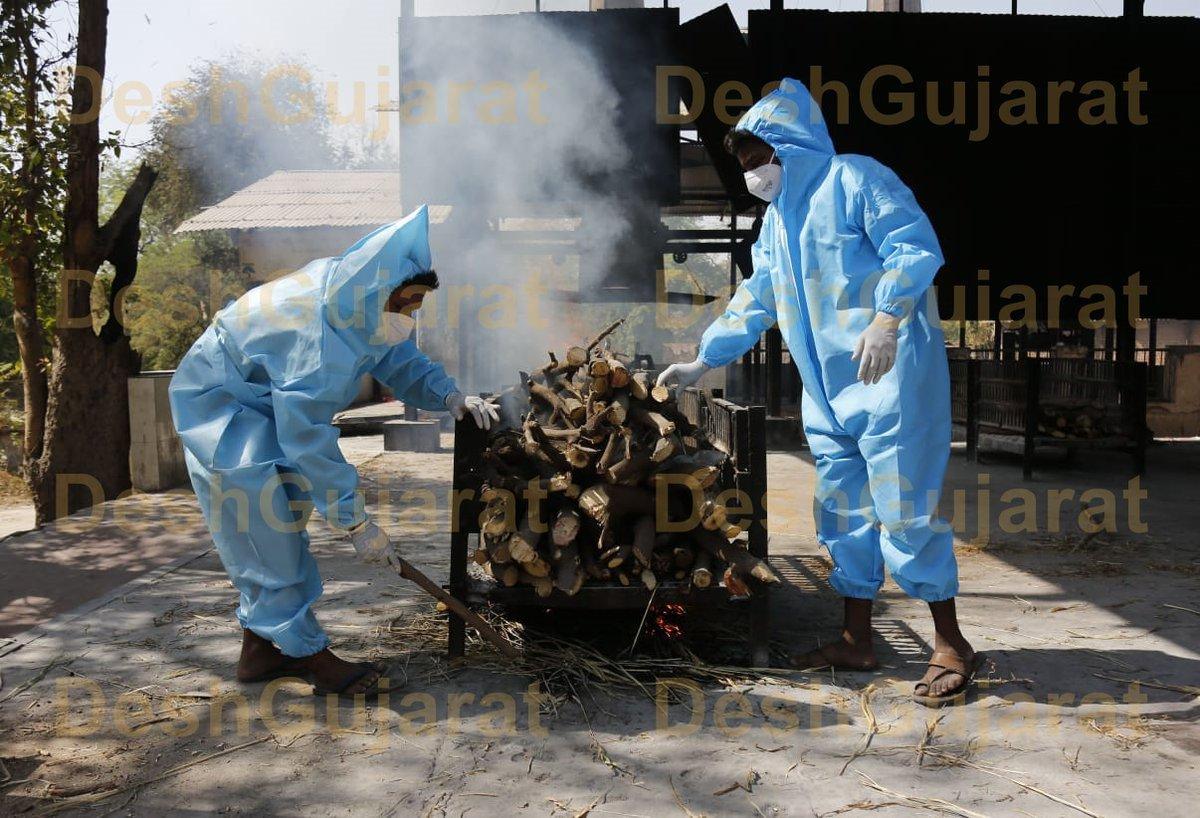 Crematorium staffers considered Corona Warriors with effect from April 2020: Gujarat govt