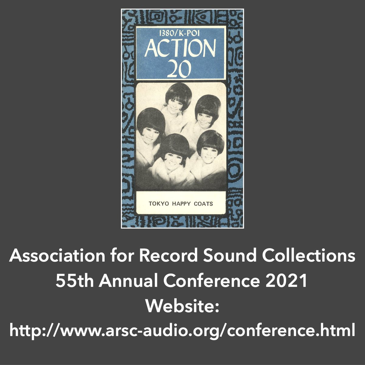 For more information about ARSC and the conference, go to https://t.co/7mEPMWCQuK. 👘🎸👘🎤👘🥁👘🎷👘🎹 https://t.co/dFbqkpN4nU