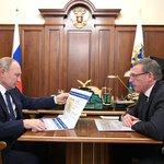 Image for the Tweet beginning: #Kremlin: Working meeting with Omsk
