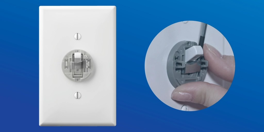 "Classic look, contemporary smarts: Our Aurora smart bulb rotary dimmer keeps your smart bulbs in ""always ready"" mode by locking your toggle light switch in the up position – and lets you dim them from the wall or with an app. See more: https://t.co/Mwi5Vrc8FU"