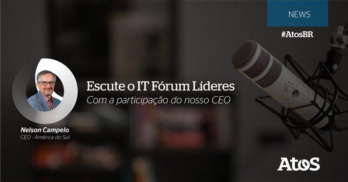 Está no ar mais um episódio do IT Fórum Líderes com participação do nosso...