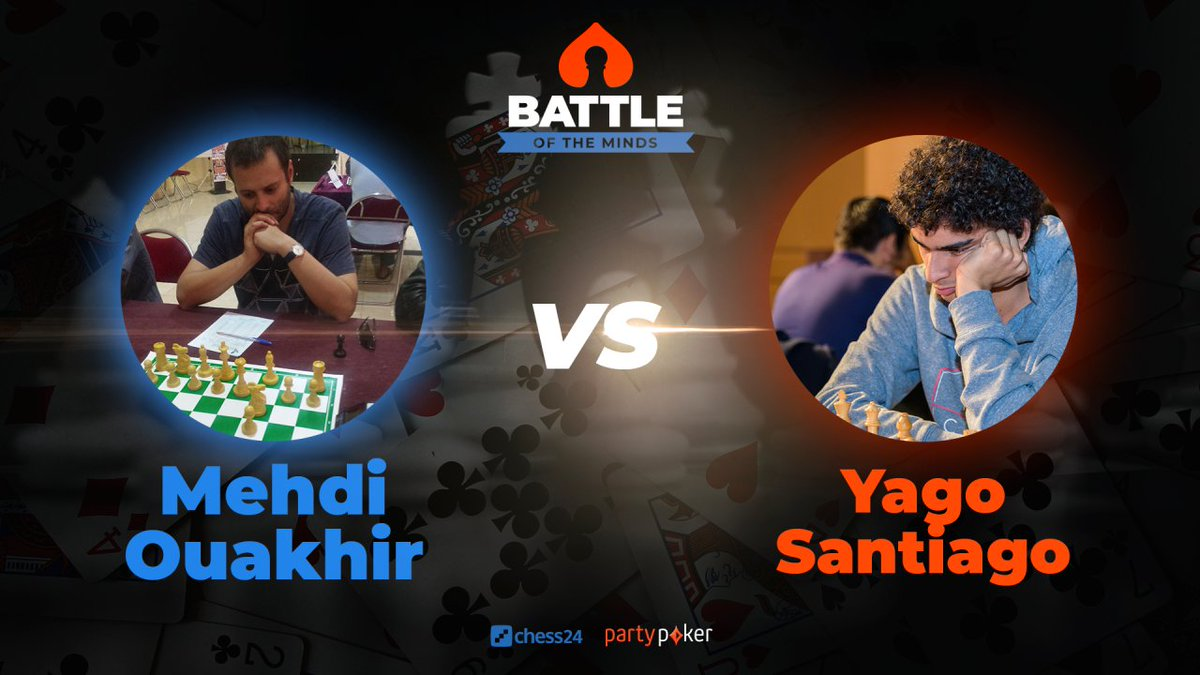 test Twitter Media - At 20:00 @LawrenceTrentIM will commentate on the Battle of the Minds match between Fide Master and professional poker player Mehdi Ouakhir from Morroco against Grandmaster Yago Santiago from Brazil!  📺https://t.co/2uIerEt0RN https://t.co/43w3bROALH