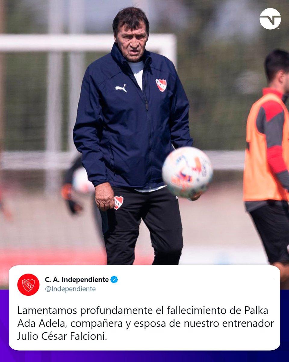 FUERZA, JULIO 🙏  Falleció Palka Ada Adela, la esposa de Falcioni, director técnico de Independiente https://t.co/PI9O5UNXoY