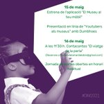 Image for the Tweet beginning: 🏛MUSEU | Consulta les estrenes