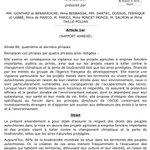 Image for the Tweet beginning: 👍 Projet de loi Développement solidaire
