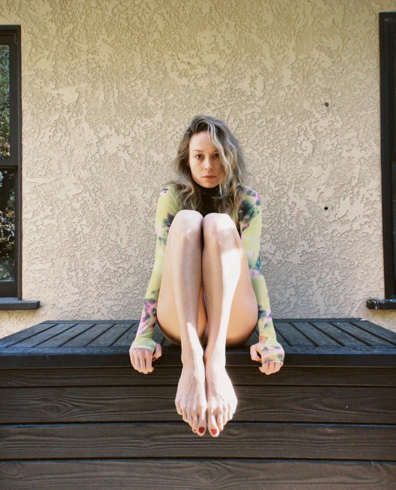 Brie Larson Feet