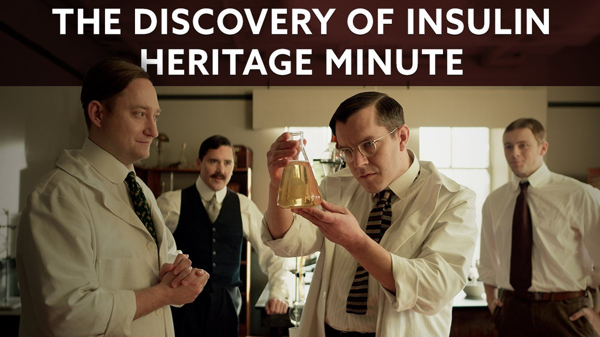 The discovery of insulin in 1921 saved Leonard Thompson's life - and it has saved millions of other lives in the years since. To celebrate 100 years of one of our country's most significant medical breakthroughs, watch this new #HeritageMinute from @HistoricaCanada. #Insulin100 https://t.co/2SI4t3XTt0