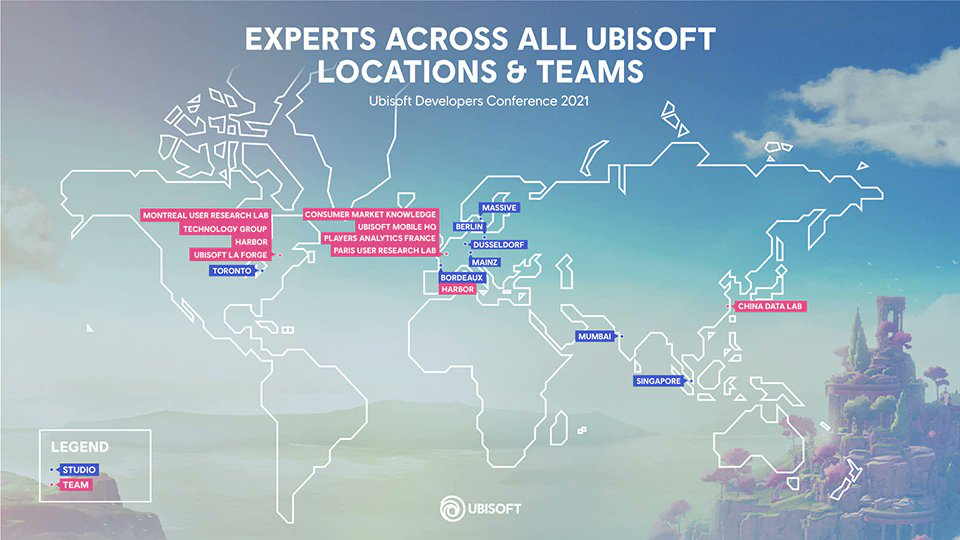 Take a look inside this year's Ubisoft Developer Conference, where teams from around the world gathered to discuss how Machine Learning and Data Science will help transform the Industry 🚀  📜 https://t.co/KfOhgaUOU8 https://t.co/PKZsIP9iTE