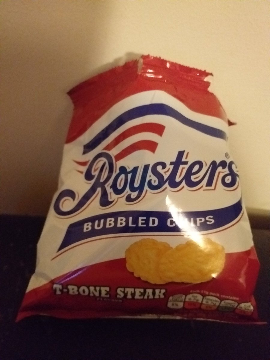 There's no doubt in my mind that roysters are the best crisps ever https://t.co/UswEVhVg3u