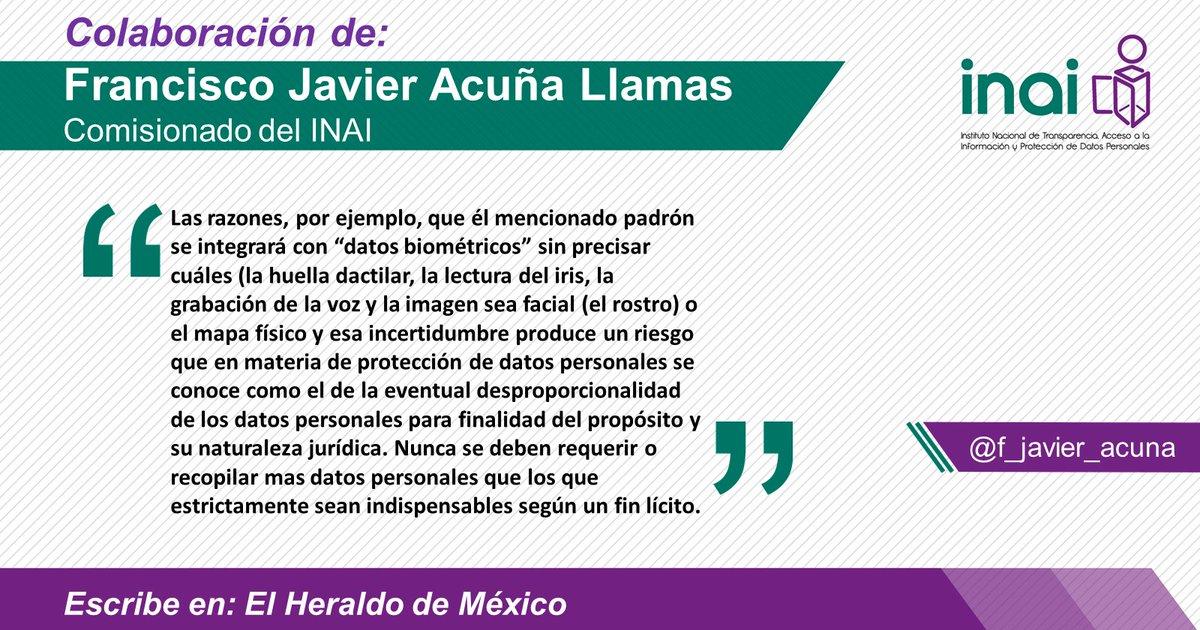 @INAImexico's photo on Acuña