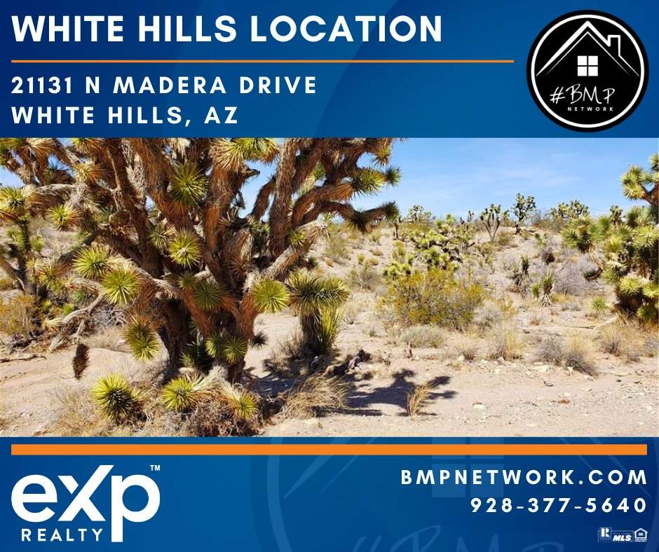 ⭐ Located in White Hills!! ⭐ Info: https://t.co/uUH7FQBTUL  BMP Network eXp Realty 928-263-6854  #RealEstate #Realtor #ForSale #LandForSale #LotsForSale #BuildYourDreamHome #eXpRealty #NewListing #HomesForSale #Property #Properties  #BMPNetwork #LandForSale https://t.co/mQpddlRCHq