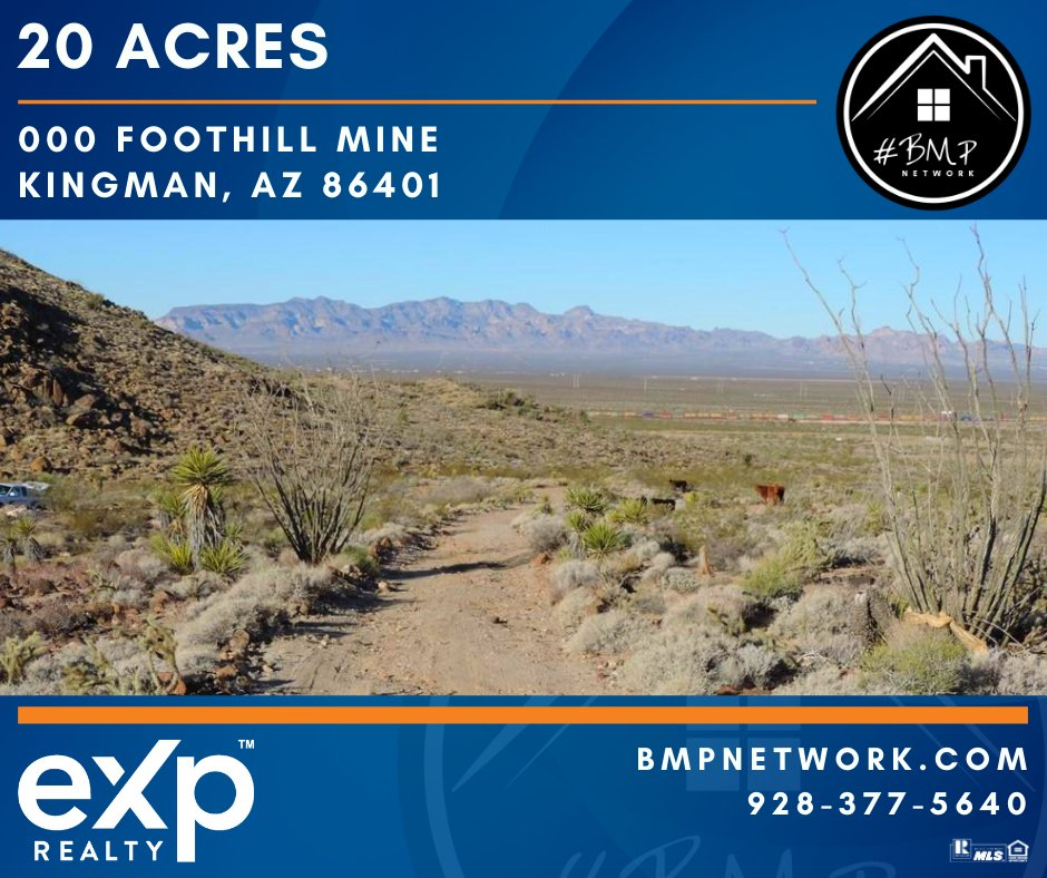 ⭐⭐ 20 ACRES ⭐⭐ More Info: https://t.co/J4JPspZusP  Great 20 Acres lot!!  BMP Network eXp Realty 928-263-6854  #RealEstate #Realtor #ForSale #LandForSale #LotsForSale #BuildYourDreamHome #eXpRealty #NewListing #HomesForSale #Property #Properties  #BMPNetwork https://t.co/2RpQ9DWoPY
