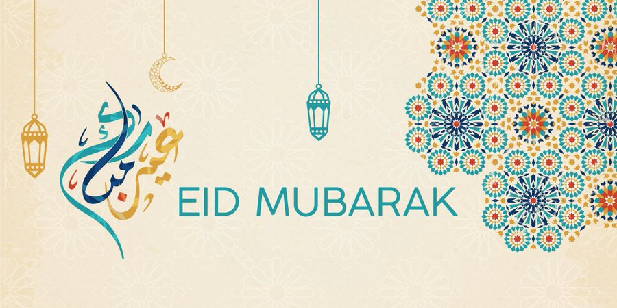 Wishing a happy and peaceful #EidAlFitr to everyone celebrating.